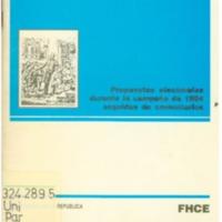 UNIVERSIDAD DE LA REPUBLICA - Los partidos políticos y la educación -  propuestas electorales durante la campaña de 1994 seguidas de comentarios.PDF