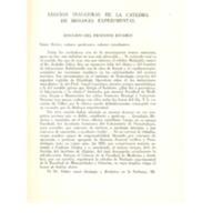 Lección inaugural de la catedra de biología experimental (discurso del Prof. Estable).pdf